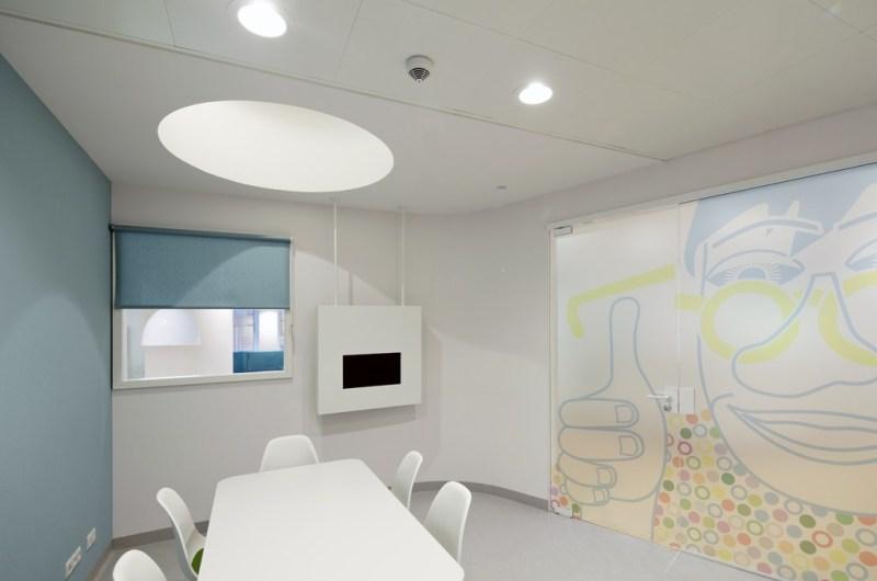 Rotterdam Eye Hospital wnętrze