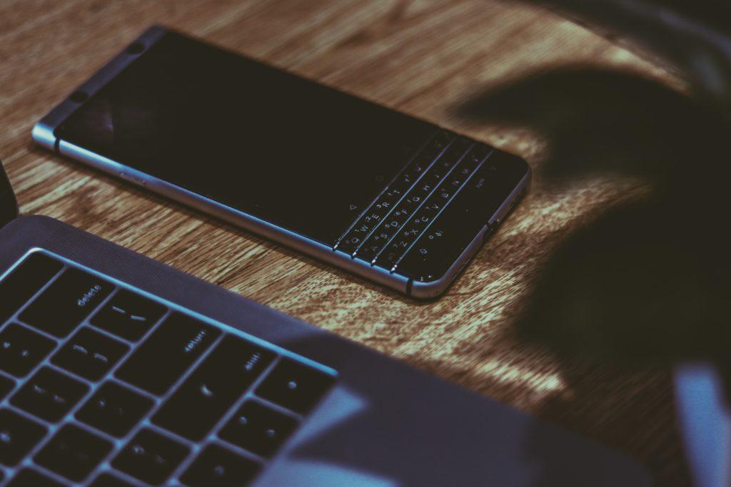 utracone szanse zdjęcie telefonu blackberry